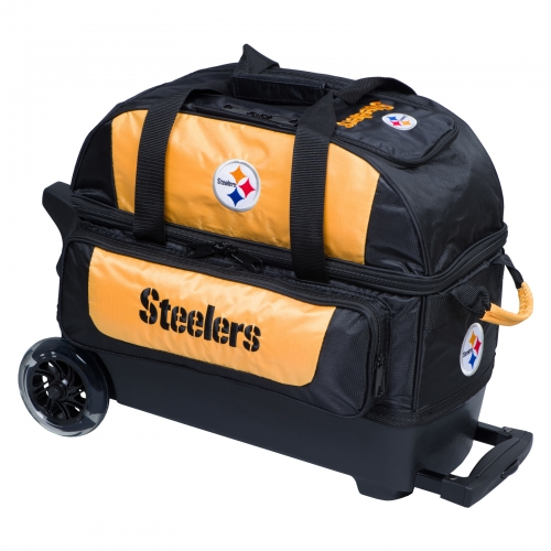 Pittsburgh Steelers Double Roller Bag