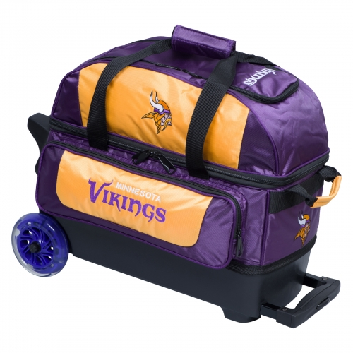 Minnesota Vikings Double Roller Bag