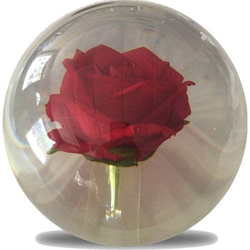 Clear Rose Ball