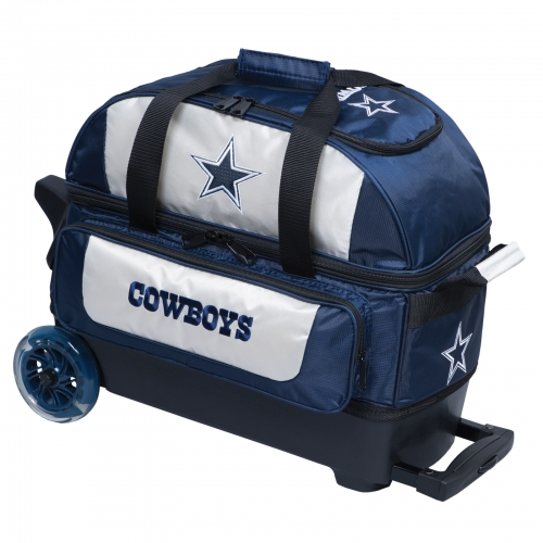 Dallas Cowboys Double Roller Bag