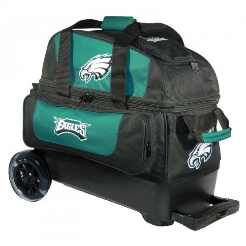 Philadelphia Eagles Double Roller Bag