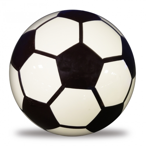 Clear Soccer Ball