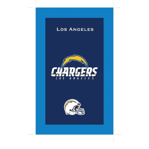 Los Angeles Chargers Towel