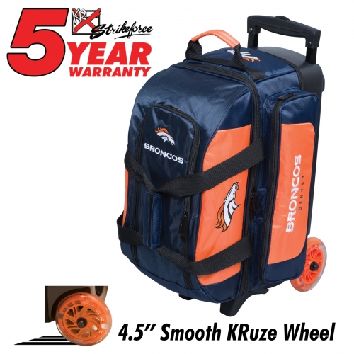 Denver Broncos Double Roller Bag