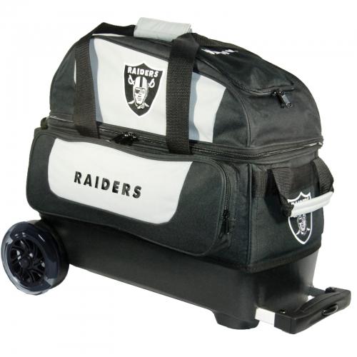 Las Vegas Raiders Double Roller Bag