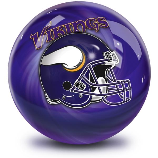 NFL Helmet Swirl Minnesota Vikings