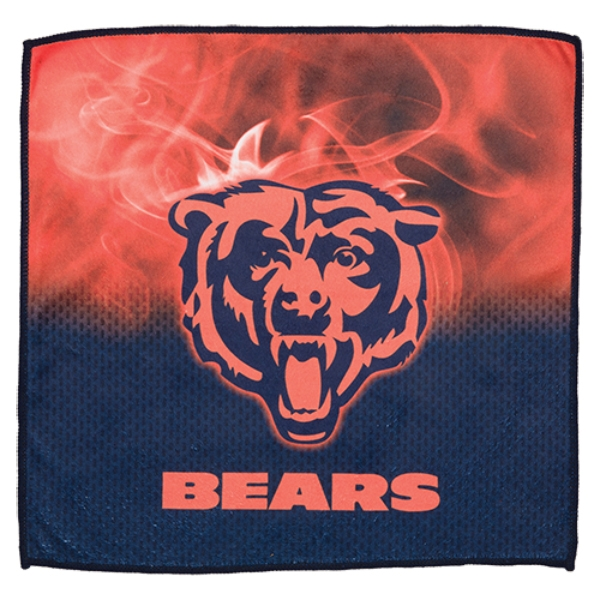 Chicago Bears On Fire Towel