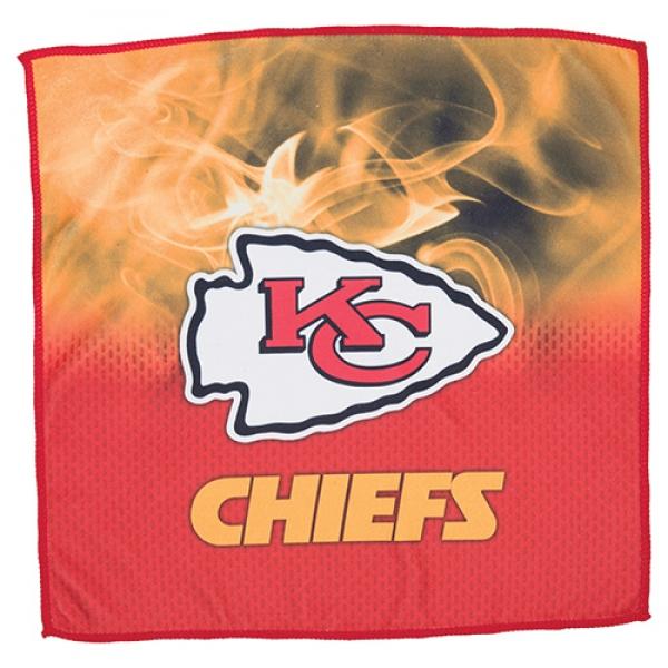 Kansas City Chiefs On Fire Towel