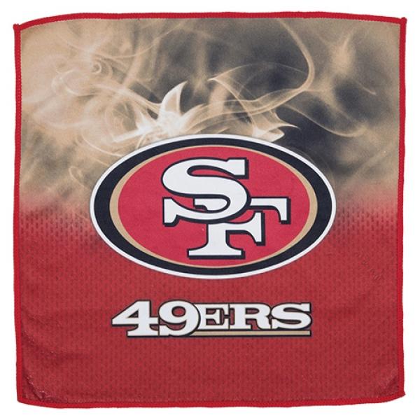 San Francisco 49ers On Fire Towel