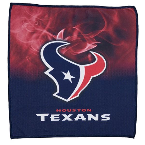Houston Texans On Fire Towel