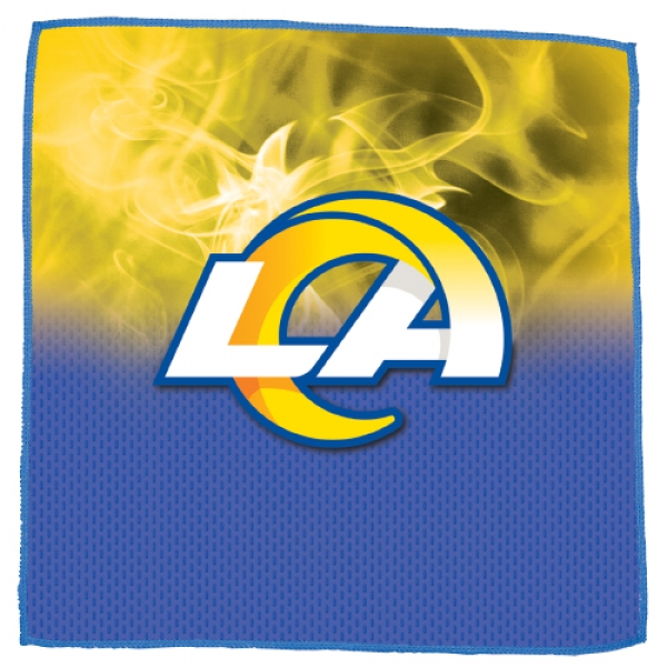 Los Angeles Rams On Fire Towel
