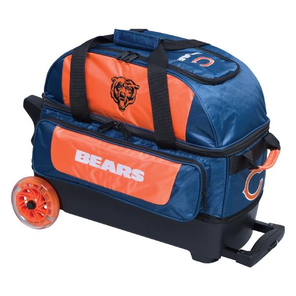 Chicago Bears Double Roller Bag