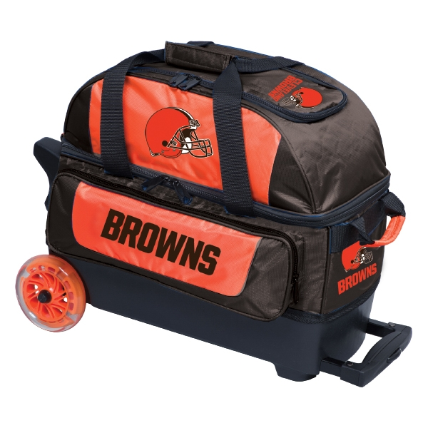 Cleveland Browns Double Roller Bag