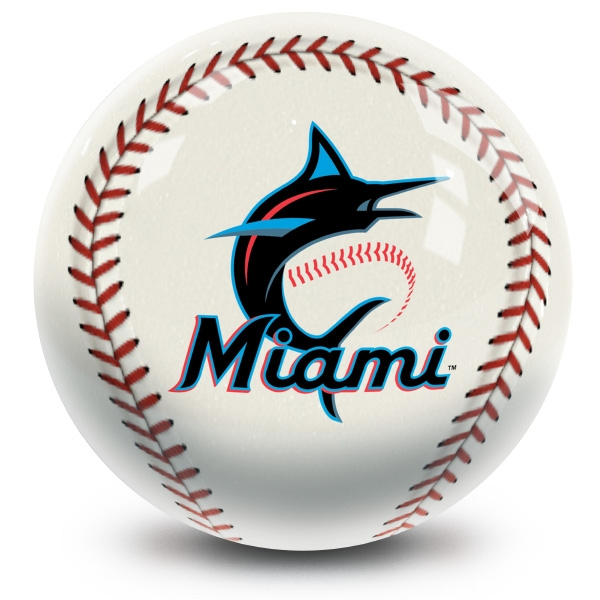 Miami Marlins Baseball Design