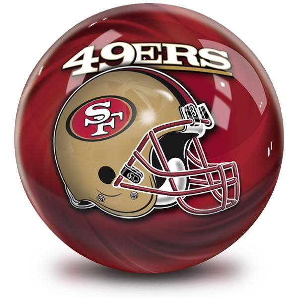 NFL Helmet Swirl San Francisco 49ers