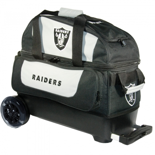 Las Vegas Raiders Double Roller Bag