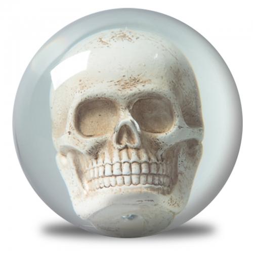 Clear Skull Ball
