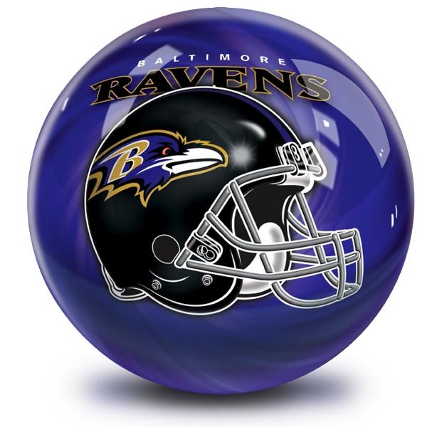NFL Helmet Swirl Baltimore Ravens