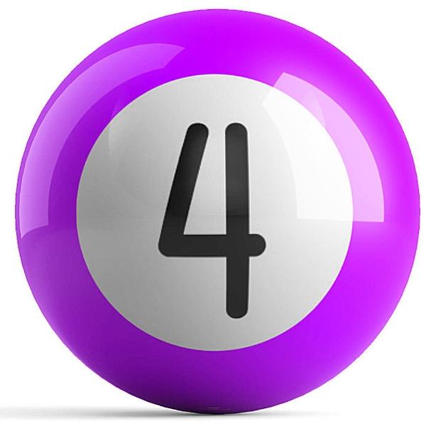 Purple 4 Ball