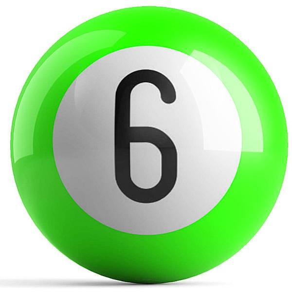 Green 6 Ball