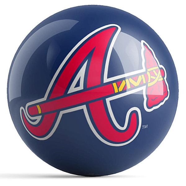 Atlanta Braves Logo Ball