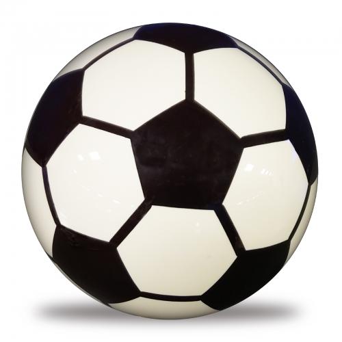Clear Soccer Ball