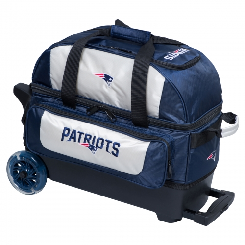 New England Patriots Double Roller Bag