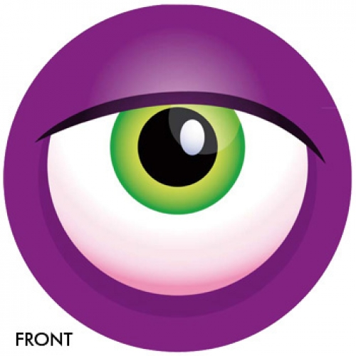Monster Eyeball - purple