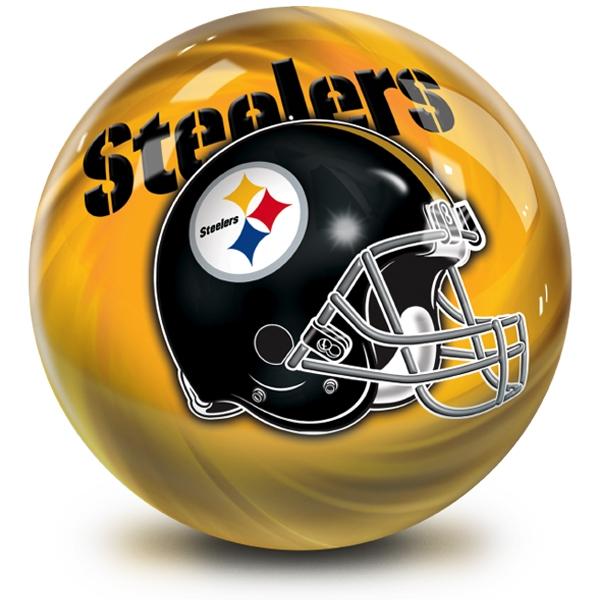 NFL Helmet Swirl Pittsburgh Steelers