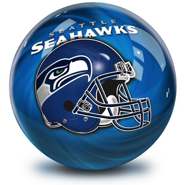 NFL Helmet Swirl Seattle Seahawks