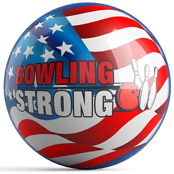 Bowling Strong US Flag